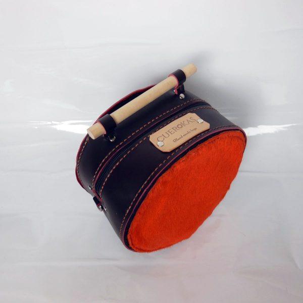 alt=bolso esfera chocolate y naranja E-001bolos modificada (1)