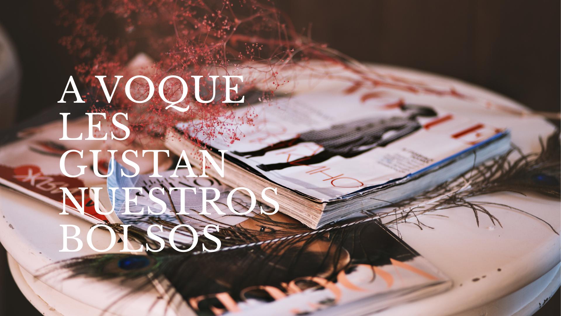 Cuerokas -Visto en Vogue