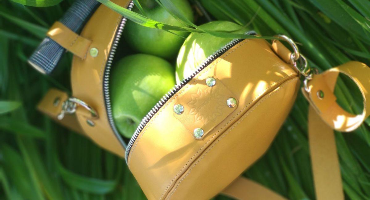 Bolso en piel ecológica de cuerokas